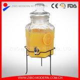 Стеклянный электрический разливочный автомат напитка с Spigot и ведром 5 галлонов