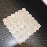 Het beste Verkopende Vierkante Marmer van de Mengeling van Creama Marfil Hexagon