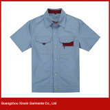 Guangzhou OEM Design Work Clothes Factory Fabricant (W162)