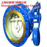 Válvula hidráulica de control de aguas servidas hidráulica inclinada