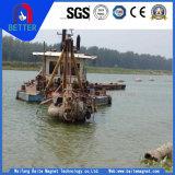 Baiteの金または砂またはスライバまたは水クリーニングのための油圧120インチの川のバケツ浚渫船