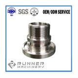 Hoge Precisie Aluminium Aangepaste CNC die het Deel van Machines machinaal bewerken