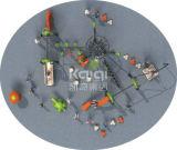 Kaiqi im Freienspielplatz-kletternde Systeme mit multi Spiel-Spielen (KQ60140A)