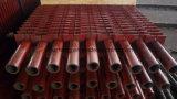 Doppio tubo di H Hh Economizerfinned, tubo di acciaio senza giunte di ASTM A106 gr. B