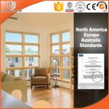Ventana del toldo de la alta calidad con talla sólida de la ventana de madera de roble, alto elogiado y modificado para requisitos particulares del toldo de aluminio Windows
