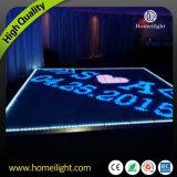 P10cm Le plus récent acrylique résistant à l'eau RGB LED Dance Floor Vidéo pour Party Party Wedding Club Stage Show