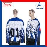 Healongの方法デザイン服装ギヤ昇華学校のマッチのアイスホッケーのジャージ