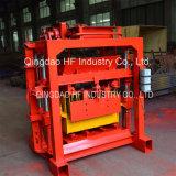 Coulisse Qt4-35 faisant à machine la poussière en pierre bloc de pavage manuel faisant des machines