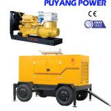 type ouvert de 200kw Shangchai groupe électrogène diesel avec le bas de page 4-Wheels (PF220GFE)