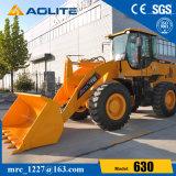 3ton重い構築のローダー機械、中国の車輪のローダー630