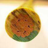 Kupferner Leiter-gelbes Grün-Draht-Erdungsdraht