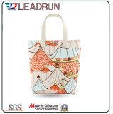 Sac à provisions non-tissé de papier de traitement de toile de coton de sac à provisions de cadeau (X011)