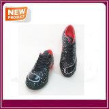 Schwarze Farben-Innenfußball-Schuhe für Verkauf