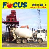 대중적인 75cbm/H Mobile Concrete Batching Plant