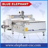 Cortadora de talla de madera del CNC 3D del elefante azul 1325 para la venta