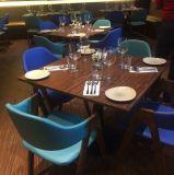 インポートされた木HPL終わりの喫茶店の喫茶店のレストランの家具セット
