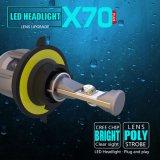 新しいX70 H13 12V 24V自動車LEDのヘッドライトの球根の自動ライト60W 15600lm