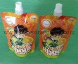 Подгонянные упаковывая раговорного жанра мешки с Spout для пить, соком