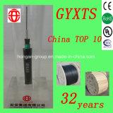 Gyxts 24 núcleos al aire libre Central-Tube cables de acero blindados cable óptico para aérea o enterrado