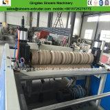 PVC 물결 모양 루핑 투명한 반투명 장 밀어남 선