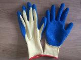 21 Индикатор пряжи латекс для рук с покрытием безопасности вещевого ящика
