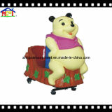 Giro elettrico dell'oscillazione per il giro felice del Kiddie dell'orso dei bambini
