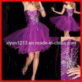 Il partito di cocktail di Shor/promenade viola si veste (TS21102)