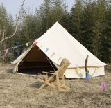 Lourd ferme la fermeture éclair la toile 100% de coton des tentes de Bell de 5 mètres