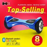 도매 2 바퀴 지능적인 균형 전기 스쿠터 8 인치 Hoverboard