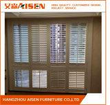Obturador 2017 dobrado branco clássico da plantação do estilo de Hangzhou