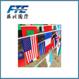 Kloofje die Nationale Vlag hangen Alle Landen