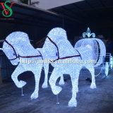 クリスマスLEDの馬キャリッジシンデレラキャリッジライト