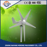 400W Portable Mini 5 lâminas da turbina eólica gerador para venda a quente