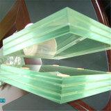 Décoration extérieure en verre trempé transparent en verre LED Smart personnalisé