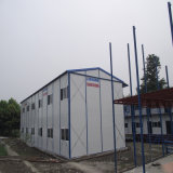 Casa movible prefabricada del envase de la ISO