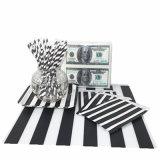 Dólar servilleta de papel del bolso de paja con diversos diseños para Party