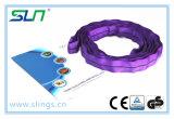 слинг 100% полиэфира 5:1 фактора безопасности 1tx1m бесконечный круглый