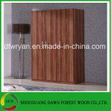 Compartiment en bois neuf de cabinet de garde-robe de chambre à coucher de mélamine (prix usine)