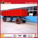 25 tonnellate del piccolo carico della parete laterale di rimorchio aperto pieno della barra di traino