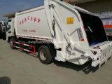 JAC 5 T para 8 toneladas recusar o vagão 4X2 caminhão de lixo do Compactador