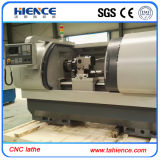 Torno de giro Ck6150A do metal horizontal hidráulico do CNC do mandril