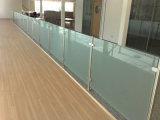 Горячая продажа стекла поручни для терраса с матовым стеклом