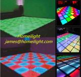 LED RVB de plancher de danse décoration parfaite pleine LED de couleur de piste de danse pour DJ Bar, un parti, boîte de nuit