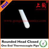 Округленная головная закрытая одна труба термопары конца