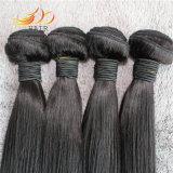 卸し売り8A加工されていないペルーのバージンの人間の毛髪のよこ糸