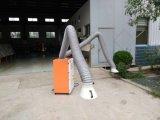 Estrattore portatile del fumo di saldatura dell'alto flusso d'aria di Maanually con due braccia di succhiamento