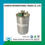 capacitor duplo da C.A. 60UF para o capacitor de funcionamento do motor de ventilador Cbb65