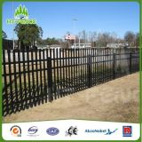 Hohes Security Galvanized Palisade Fence mit Razor Wire