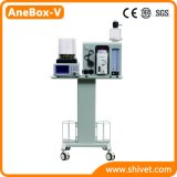 Machine d'anesthésie vétérinaire des animaux de la machine d'anesthésie (AneBox-V)