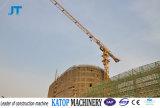 Fabricante modelo em topless de China do guindaste de torre PT5010-6 do guindaste de torre Qtz80